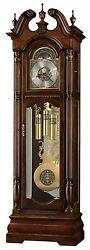 Howard Miller Edinburg 82nd Anniversary Grandfather Clock 611-142 FREE Shipping