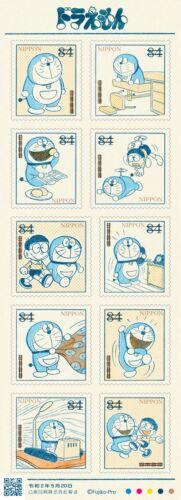 Doraemon 50th Anniversary Doraemon Stamp Complete 20 types Set Limited JAPAN