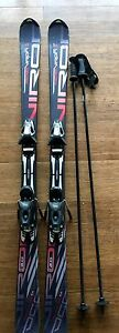 Downhill ski package: Fischer 150 with Rossignol 25.0 boots