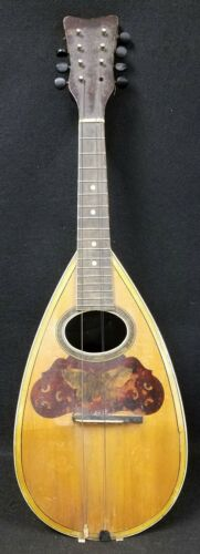 Vintage Tater Back Mandolin in as is condition