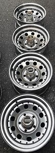 "Set of 4 Used 15"" American Racing Rims (Chevy Bolt Pattern)"