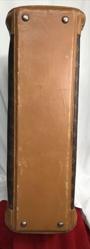 Louis Vuitton Suitcase Vintage Soft Sided Zipper Round Side Handle 25 X20 X9.5  - $1,195.00