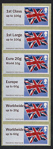 NCR-FLAG-FLAGS-COLLECTOR-STRIP-6-incl-EURO-20g-WORLD-10g-NO-DATECODE-POST-GO