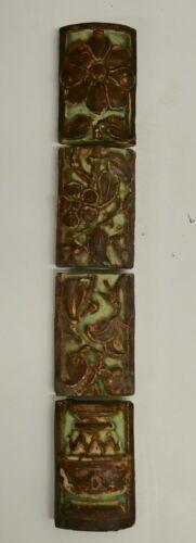 Malibu California Mantel 4-Tile Set Vintage