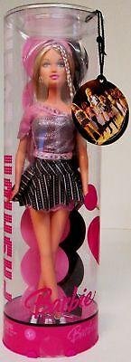 Fashion Fever Purple Blonde Hair Barbie Doll J1382  (New)
