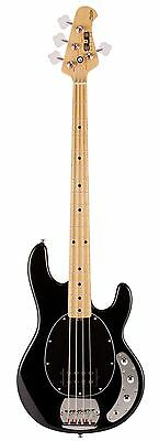 Sterling by Music Man SUB Ray4 Black Bass guitar - New Boxed Ray4 BK
