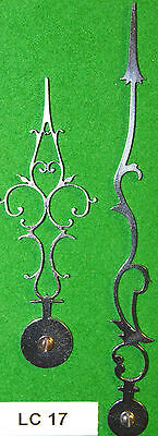 Antique Clock Hands LC17 Made In England From Original Design *SUPERB QUALITY*