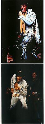 Elvis Presley 10 Photo Set-Madison Square Garden, June 10, 1972 & FREE CD!