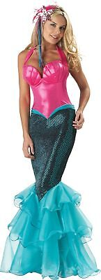 Mermaid Adult Womens Costume Elite Collection Gown Disney Halloween