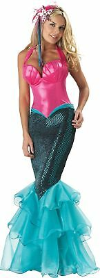 Meerjungfrau Erwachsene Damen Kostüm Elite Sammlung Abendkleid Disney -