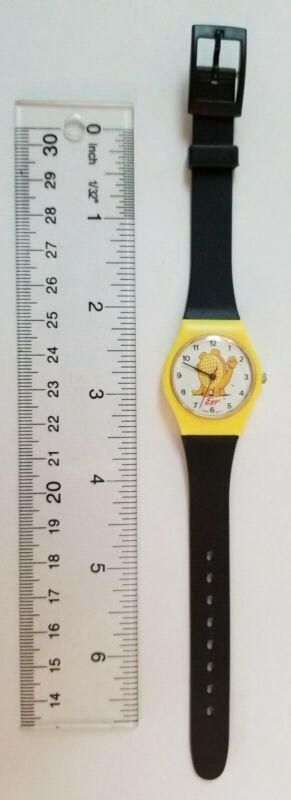 Vintage, 1990 Kelloggs, Eggo Waffle, Dinosaur, Wrist Watch, Retro, Free Shipping