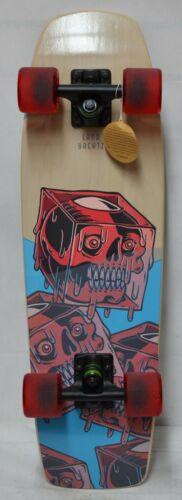Landyachtz Dinghy Coffin Cocktail - Cruiser - Red Wheels - Complete Skateboard