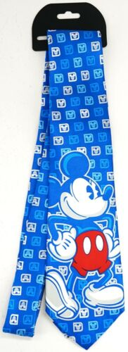 New Disney Parks Blue Mickey Mouse Walt Disney World Logo Men