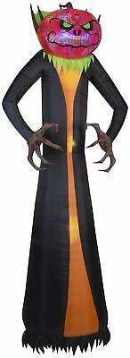 12' Projection Airblown Phantasm Pumpkin Reaper Giant Halloween Inflatable