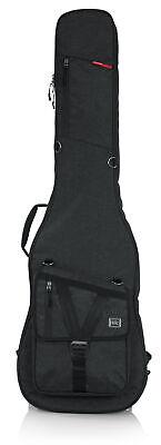 Gator Cases*GT-BASS-BLK*Transit Series Bass Guitar Gig Bag Black Backpack NEW