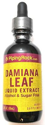 2oz Damiana Leaf Liquid Extract Herbal Dietary Supplement Digestive Drops Damiana Leaf Extract Liquid