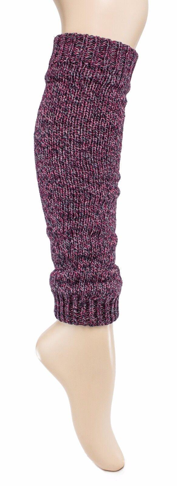 BRUBAKER trendige Damen Stulpen Strickstulpen Beinstulpen Legwarmer Baumwolle