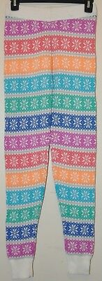 SO Brand Juniors Multi-Color Nordic Print Sweater Leggings Sz XS