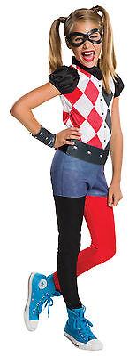 Mädchen Harley Quinn Superhelden Comic Buch Tag Woche Kostüm Outfit - Comic Buch Kostüm Mädchen