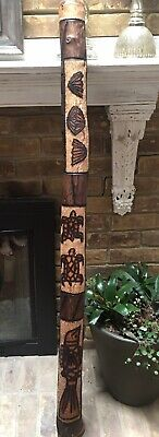 Original ABORIGINESE Australian Hand Made Hand Crafted Hand Carved  Didgeridoo