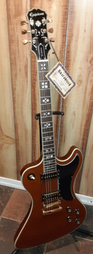Epiphon Lee Malia RD Artisan Signature 6 String Electric Guitar w/case & extras!