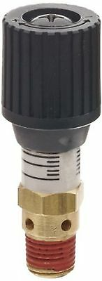 "Control Devices 1/4"" Brass Variable Pressure Relief Valve 0-100 psi Adjustable"