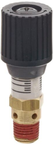 """Control Devices 1/4"""" Brass Variable Pressure Relief Valve 0-100 psi Adjustable"""
