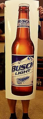 Busch Light Bud Beer decal flathead sticker 4' dorm room door decor man cave bar