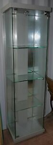 Heavy Duty 4 Shelf Glass Display Cabinet with LED Lighting Batemans Bay Eurobodalla Area Preview