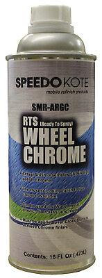 Wheel Chrome Silver ready to spray Leafing Aluminum Base Coat, Pint, SMR-ARGC