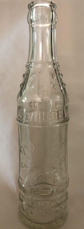 Vintage Milde Coca-Cola Bottling Co Embossed 7 oz Soda Bottle Flat River MO