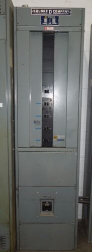 Square D I-line Power-style Switchboard 800a Main Breaker 208y/120v Nema 1 Used