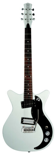 Danelectro DC59XT Dano 59 SILVER Double Cutaway Electric Guitar + Tremolo Arm