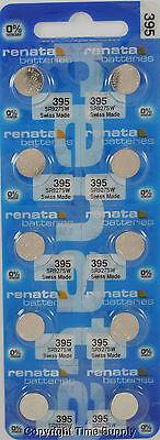 15 pc 395 Renata Watch Batteries SR927SW FREE SHIP 0% MERCURY
