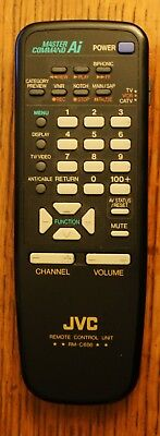 JVC RM-C686 MASTER COMMAND AI TV Remote Control unit Tested