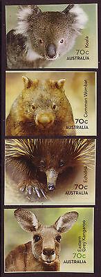 AUSTRALIA 2015 NATIVE ANIMALS SELF ADHESIVE SET OF 4 UNMOUNTED MINT