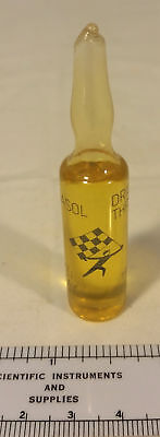 1982 Gas Sample Glass Tube Give Away South Africa Sasol Drie Three Site Syn Fuel