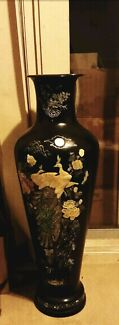 Tall Standing Antique Resin Mother of Pearl Vase Auburn Auburn Area Preview