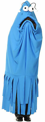 Sesame Street Costumes Adult (Monster Madness Blue Costume Yip Yips Sesame Street Series Adult)