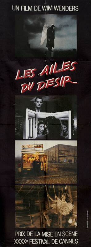 Wings of Desire 1988 French Pantalon Poster