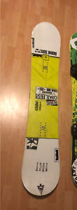 Rome Crail Snowboard and bindings for sale!