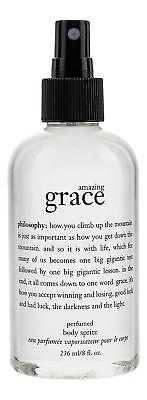 Philosophy AMAZING GRACE 8 OZ. BODY SPRITZ FRAGRANCE SPRAY &