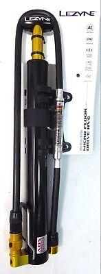 Lezyne Micro Floor Drive - Lezyne Micro Floor Drive HVG High Volume Gauge