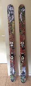 Skis and bindings-Liberty Double Helix Skis with Marker Bindings Crackenback Snowy River Area Preview