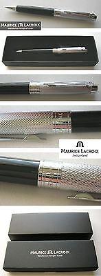 -NEU MAURICE LACROIX Swiss Kugelschreiber Geschenkbox Drehkugelschreiber Classic
