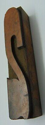 Vintage Wood Number 2 Letterpress Printer Block Type 1316 X 4 18