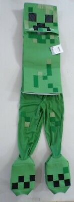 Pottery Barn Kids Minecraft Creeper Costume 7-8 Years #7151