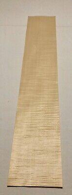 Curly Maple Wood Veneer 5 Sheets 32.5 X 5.5 6 Sq Ft