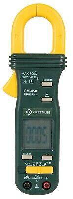 Greenlee Cm-450 True Rms Ac Clamp Meter