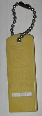 "1960's Trix Cereal Whistle 1"" x 2 5/8"""
